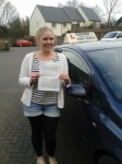Francesca Farmer passed with Freedom Driver Training